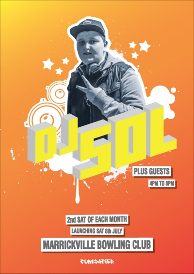 Launch of DJ Sol's Residency at Marrickville Bowlo