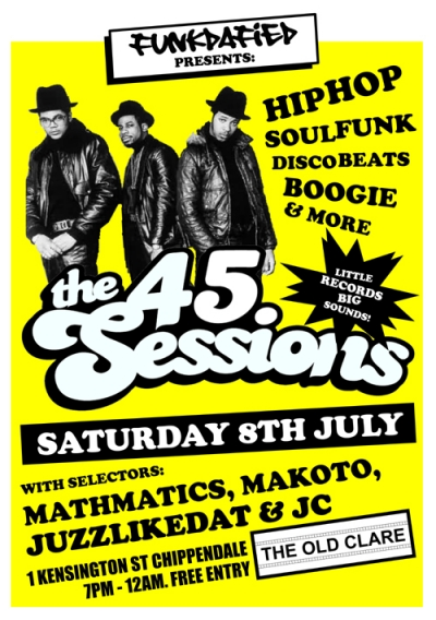 The 45 Sessions- July 2017